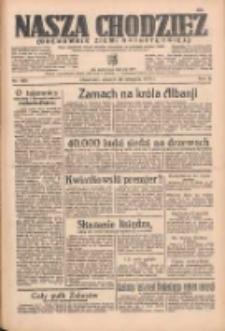 Nasza Chodzież: organ poświęcony obronie interesów narodowych na zachodnich ziemiach Polski 1935.08.20 R.6 Nr190