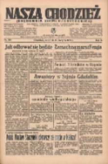 Nasza Chodzież: organ poświęcony obronie interesów narodowych na zachodnich ziemiach Polski 1935.08.29 R.6 Nr198