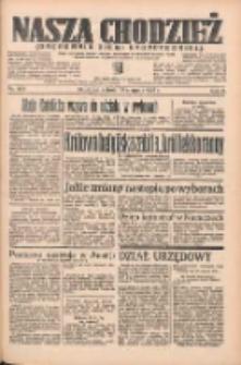 Nasza Chodzież: organ poświęcony obronie interesów narodowych na zachodnich ziemiach Polski 1935.08.31 R.6 Nr200