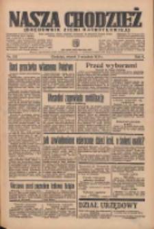 Nasza Chodzież: organ poświęcony obronie interesów narodowych na zachodnich ziemiach Polski 1935.09.03 R.6 Nr202