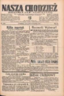 Nasza Chodzież: organ poświęcony obronie interesów narodowych na zachodnich ziemiach Polski 1935.09.05 R.6 Nr204