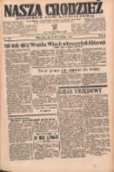 Nasza Chodzież: organ poświęcony obronie interesów narodowych na zachodnich ziemiach Polski 1935.09.06 R.6 Nr205
