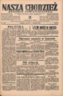Nasza Chodzież: organ poświęcony obronie interesów narodowych na zachodnich ziemiach Polski 1935.09.07 R.6 Nr206