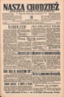 Nasza Chodzież: organ poświęcony obronie interesów narodowych na zachodnich ziemiach Polski 1935.09.08 R.6 Nr207