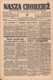 Nasza Chodzież: organ poświęcony obronie interesów narodowych na zachodnich ziemiach Polski 1935.09.11 R.6 Nr209