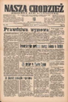 Nasza Chodzież: organ poświęcony obronie interesów narodowych na zachodnich ziemiach Polski 1935.09.12 R.6 Nr210
