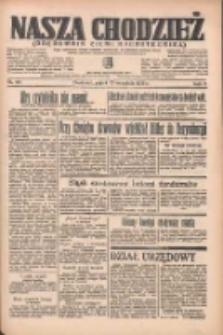 Nasza Chodzież: organ poświęcony obronie interesów narodowych na zachodnich ziemiach Polski 1935.09.13 R.6 Nr211