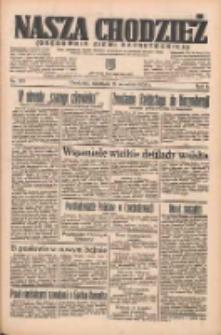 Nasza Chodzież: organ poświęcony obronie interesów narodowych na zachodnich ziemiach Polski 1935.09.15 R.6 Nr213