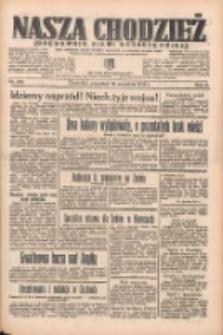 Nasza Chodzież: organ poświęcony obronie interesów narodowych na zachodnich ziemiach Polski 1935.09.19 R.6 Nr216