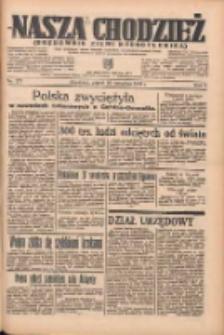 Nasza Chodzież: organ poświęcony obronie interesów narodowych na zachodnich ziemiach Polski 1935.09.20 R.6 Nr217