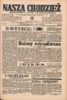 Nasza Chodzież: organ poświęcony obronie interesów narodowych na zachodnich ziemiach Polski 1935.09.22 R.6 Nr219