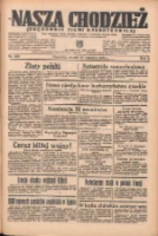 Nasza Chodzież: organ poświęcony obronie interesów narodowych na zachodnich ziemiach Polski 1935.09.24 R.6 Nr220