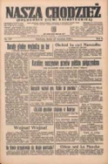Nasza Chodzież: organ poświęcony obronie interesów narodowych na zachodnich ziemiach Polski 1935.09.25 R.6 Nr221