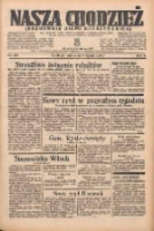 Nasza Chodzież: organ poświęcony obronie interesów narodowych na zachodnich ziemiach Polski 1935.09.28 R.6 Nr224