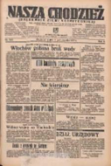 Nasza Chodzież: organ poświęcony obronie interesów narodowych na zachodnich ziemiach Polski 1935.10.04 R.6 Nr229