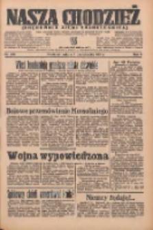 Nasza Chodzież: organ poświęcony obronie interesów narodowych na zachodnich ziemiach Polski 1935.10.05 R.6 Nr230