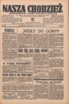 Nasza Chodzież: organ poświęcony obronie interesów narodowych na zachodnich ziemiach Polski 1935.10.06 R.6 Nr231