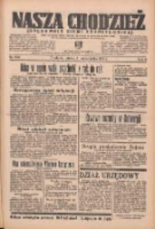 Nasza Chodzież: organ poświęcony obronie interesów narodowych na zachodnich ziemiach Polski 1935.10.08 R.6 Nr232