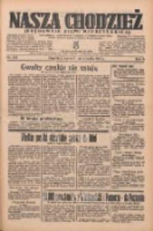 Nasza Chodzież: organ poświęcony obronie interesów narodowych na zachodnich ziemiach Polski 1935.10.09 R.6 Nr233