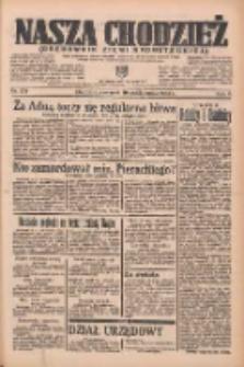 Nasza Chodzież: organ poświęcony obronie interesów narodowych na zachodnich ziemiach Polski 1935.10.10 R.6 Nr234