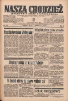 Nasza Chodzież: organ poświęcony obronie interesów narodowych na zachodnich ziemiach Polski 1935.10.11 R.6 Nr235