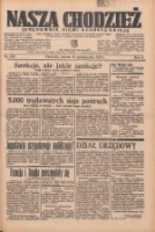 Nasza Chodzież: organ poświęcony obronie interesów narodowych na zachodnich ziemiach Polski 1935.10.12 R.6 Nr236
