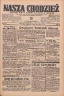 Nasza Chodzież: organ poświęcony obronie interesów narodowych na zachodnich ziemiach Polski 1935.10.13 R.6 Nr237
