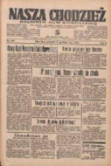 Nasza Chodzież: organ poświęcony obronie interesów narodowych na zachodnich ziemiach Polski 1935.10.17 R.6 Nr240