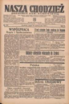 Nasza Chodzież: organ poświęcony obronie interesów narodowych na zachodnich ziemiach Polski 1935.10.18 R.6 Nr241