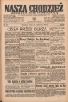 Nasza Chodzież: organ poświęcony obronie interesów narodowych na zachodnich ziemiach Polski 1935.10.22 R.6 Nr244