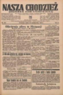Nasza Chodzież: organ poświęcony obronie interesów narodowych na zachodnich ziemiach Polski 1935.10.23 R.6 Nr245