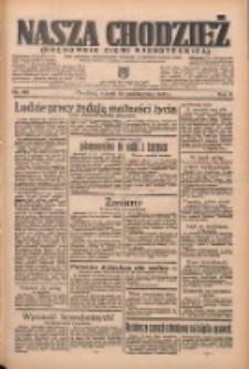 Nasza Chodzież: organ poświęcony obronie interesów narodowych na zachodnich ziemiach Polski 1935.10.29 R.6 Nr250