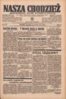 Nasza Chodzież: organ poświęcony obronie interesów narodowych na zachodnich ziemiach Polski 1935.10.31 R.6 Nr252