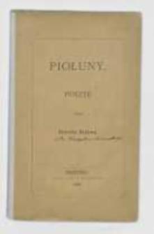 Piołuny : poezye przez Ernesta Buławę