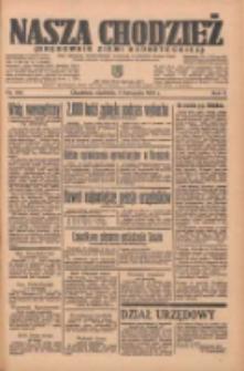 Nasza Chodzież: organ poświęcony obronie interesów narodowych na zachodnich ziemiach Polski 1935.11.03 R.6 Nr254