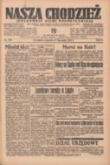 Nasza Chodzież: organ poświęcony obronie interesów narodowych na zachodnich ziemiach Polski 1935.11.17 R.6 Nr266