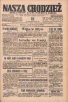 Nasza Chodzież: organ poświęcony obronie interesów narodowych na zachodnich ziemiach Polski 1935.11.19 R.6 Nr267