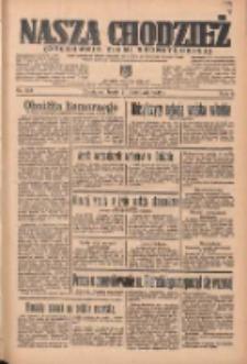 Nasza Chodzież: organ poświęcony obronie interesów narodowych na zachodnich ziemiach Polski 1935.11.20 R.6 Nr268