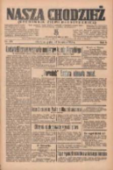 Nasza Chodzież: organ poświęcony obronie interesów narodowych na zachodnich ziemiach Polski 1935.11.22 R.6 Nr270