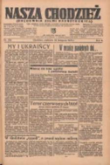 Nasza Chodzież: organ poświęcony obronie interesów narodowych na zachodnich ziemiach Polski 1935.11.24 R.6 Nr272