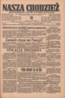 Nasza Chodzież: organ poświęcony obronie interesów narodowych na zachodnich ziemiach Polski 1935.11.28 R.6 Nr275