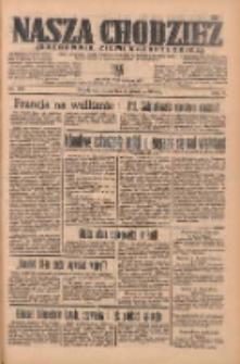 Nasza Chodzież: organ poświęcony obronie interesów narodowych na zachodnich ziemiach Polski 1935.12.05 R.6 Nr281