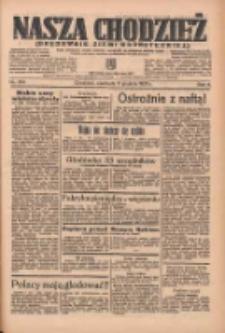 Nasza Chodzież: organ poświęcony obronie interesów narodowych na zachodnich ziemiach Polski 1935.12.08 R.6 Nr284