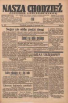 Nasza Chodzież: organ poświęcony obronie interesów narodowych na zachodnich ziemiach Polski 1935.12.12 R.6 Nr287