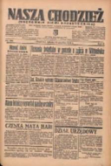Nasza Chodzież: organ poświęcony obronie interesów narodowych na zachodnich ziemiach Polski 1935.12.14 R.6 Nr289