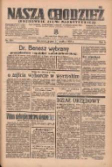 Nasza Chodzież: organ poświęcony obronie interesów narodowych na zachodnich ziemiach Polski 1935.12.20 R.6 Nr294