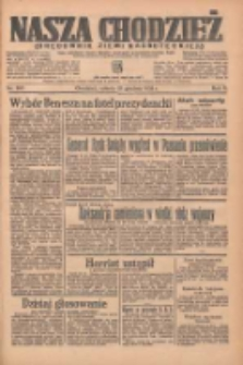 Nasza Chodzież: organ poświęcony obronie interesów narodowych na zachodnich ziemiach Polski 1935.12.21 R.6 Nr295