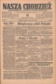 Nasza Chodzież: organ poświęcony obronie interesów narodowych na zachodnich ziemiach Polski 1935.12.24 R.6 Nr297