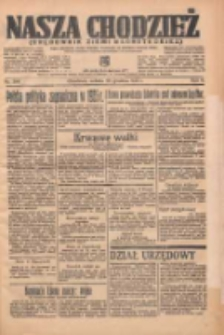 Nasza Chodzież: organ poświęcony obronie interesów narodowych na zachodnich ziemiach Polski 1935.12.28 R.6 Nr299