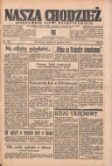 Nasza Chodzież: organ poświęcony obronie interesów narodowych na zachodnich ziemiach Polski 1935.12.31 R.6 Nr301